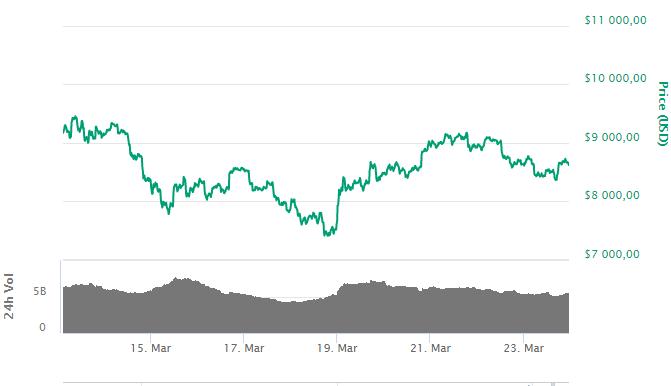 Bitcoin: на CBOE резко выросли позитивные настроения к криптовалюте