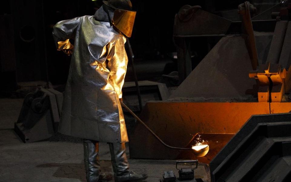 Немецкая промышленность масштабно снижается
